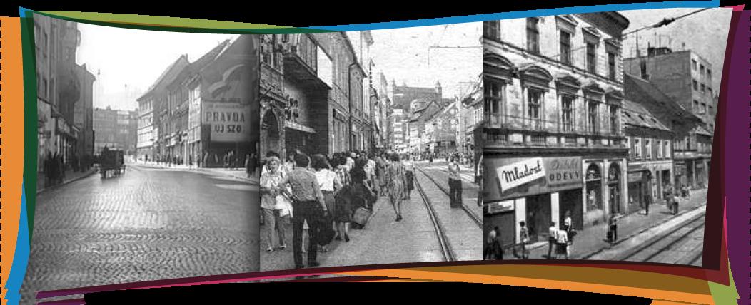 Obchodná ulica - koláž