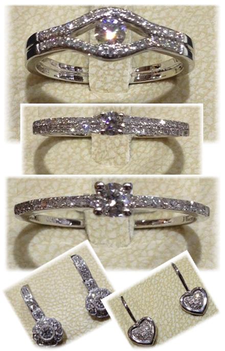 78cf60aec Zásnubné prstene a náušnice s briliantom! | Obchodná ulica